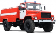 Firefighting pumped tanker AZ-1,6-30 (33081)