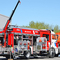 Fire fighting pumped tanker AZ-3,0-40/4 (43253) with engineering equipment